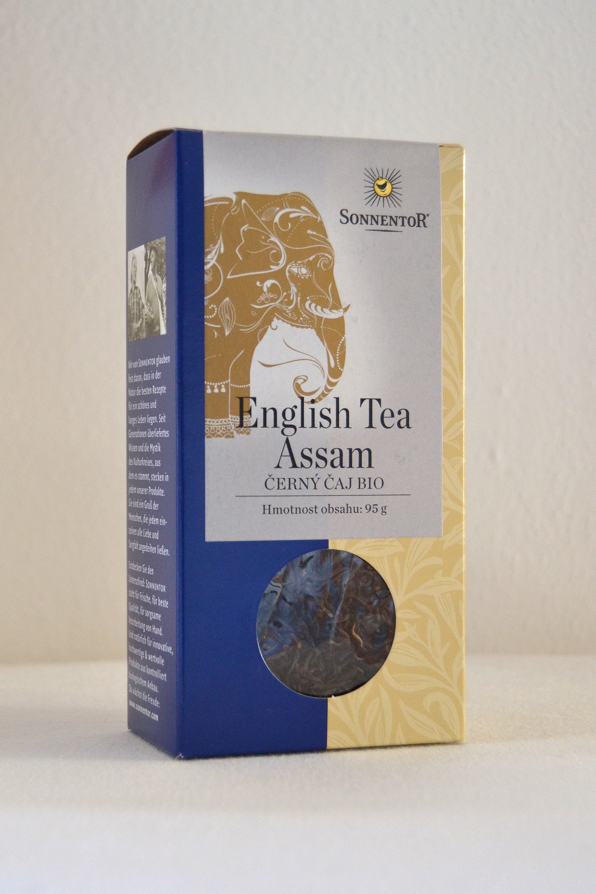 Černý čaj English Assam bio 95g