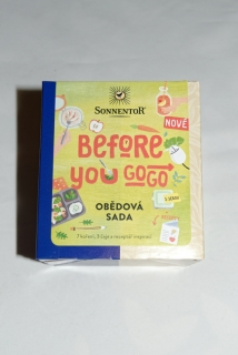 Obědová sada - BEFORE YOU GO! - bio 40,8g